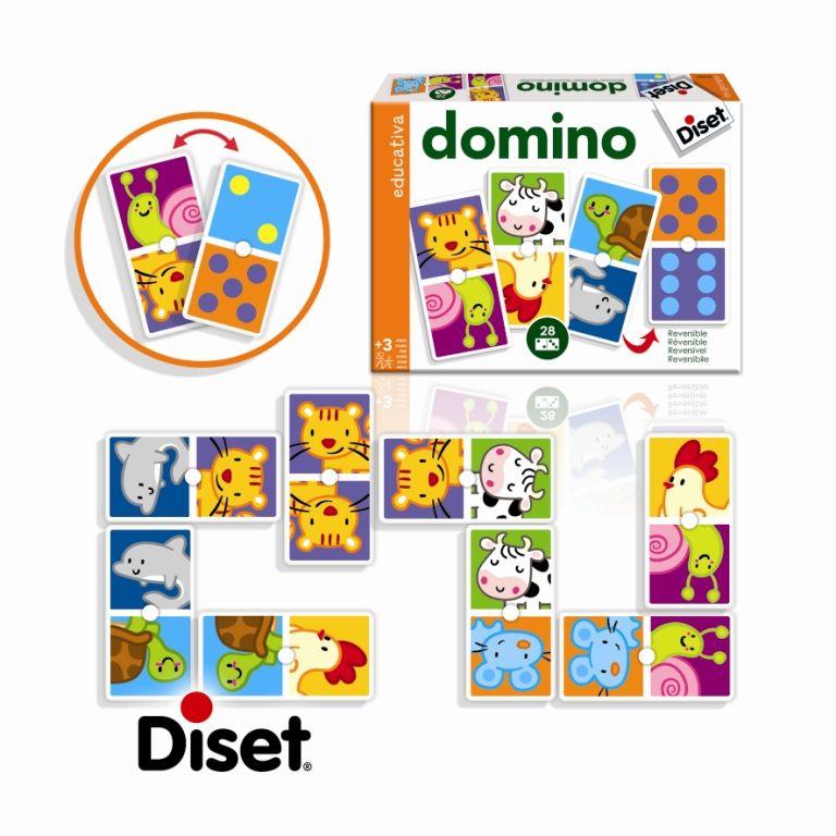Domino zvířátka Diset