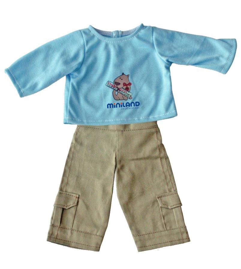 Kalhoty s tričkem 32 cm Miniland