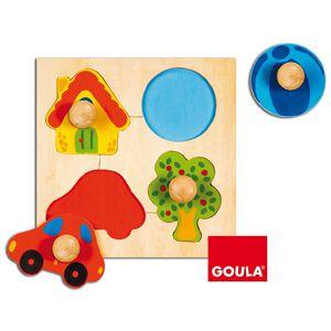 Barvy vkládanka Goula