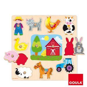 Farma - vkládanka Goula