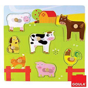 Farma - zvuková vkládanka Goula