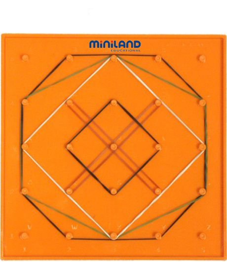Geoplány sada /15cm/ Miniland