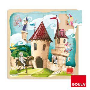 Hrad puzzle Goula