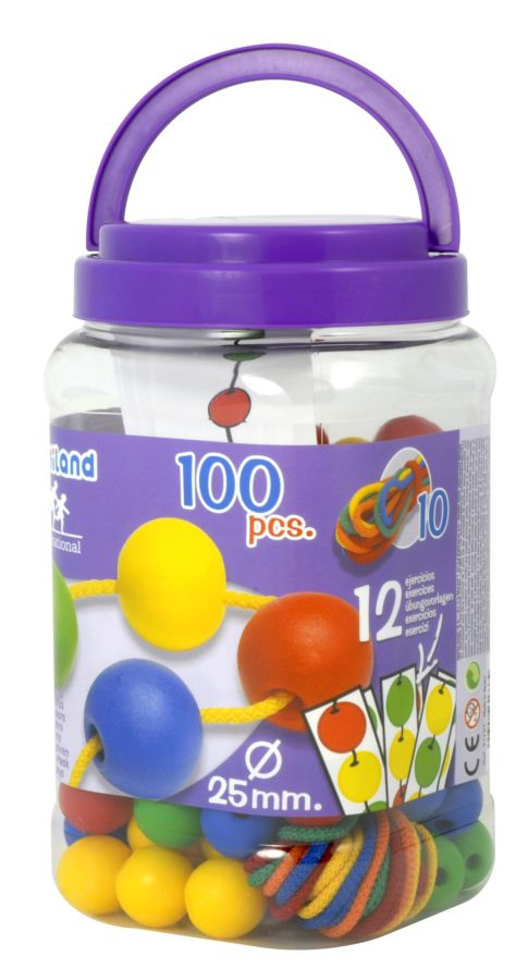 Kuličky 100 ks Miniland