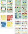 Barvy, tvary, počty 144 ks Miniland
