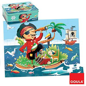 Puzzle Pirát Goula