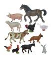 Domácí zvířata 10 ks (box)
