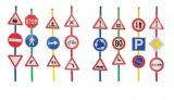 Dopravní značky sada 24ks