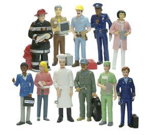 Profese - 11 figur Miniland