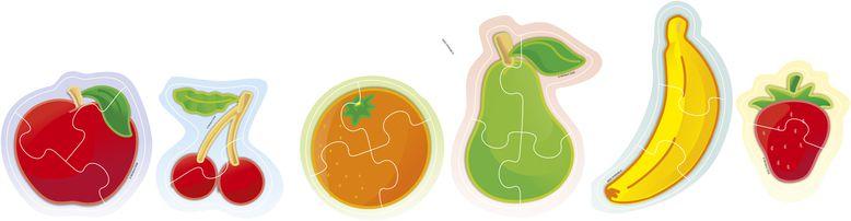 Puzzle ovoce 6ks Miniland