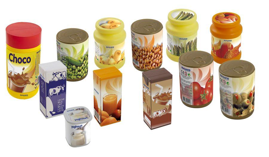 Potraviny 12 ks Miniland