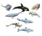Mořská zvířata 8 ks