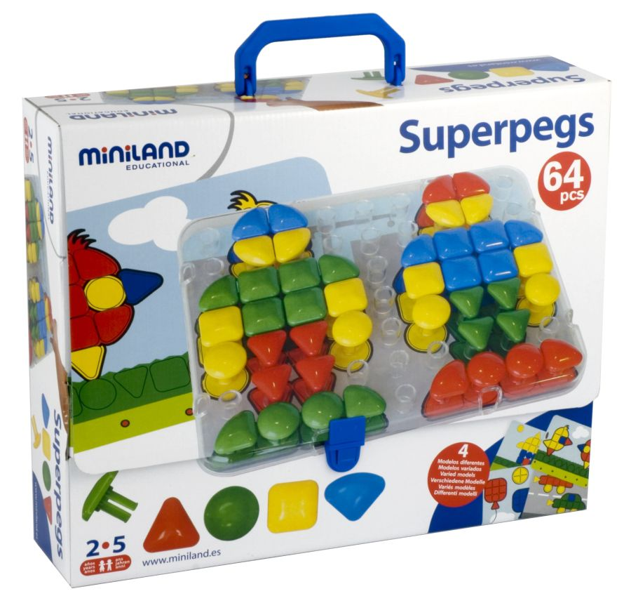Mozaika Superpegs Miniland