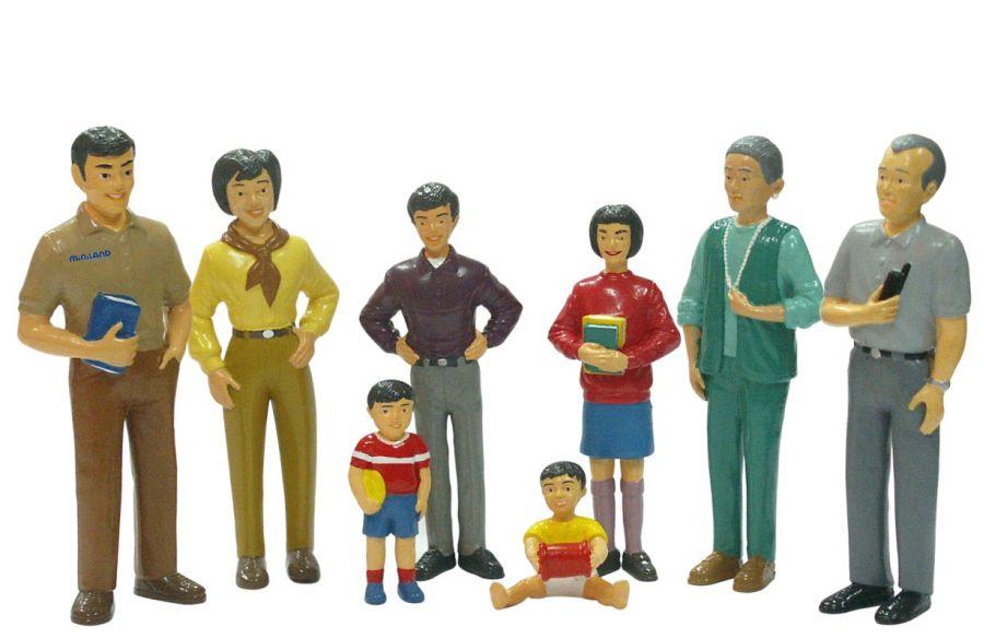 Asijská rodina Miniland