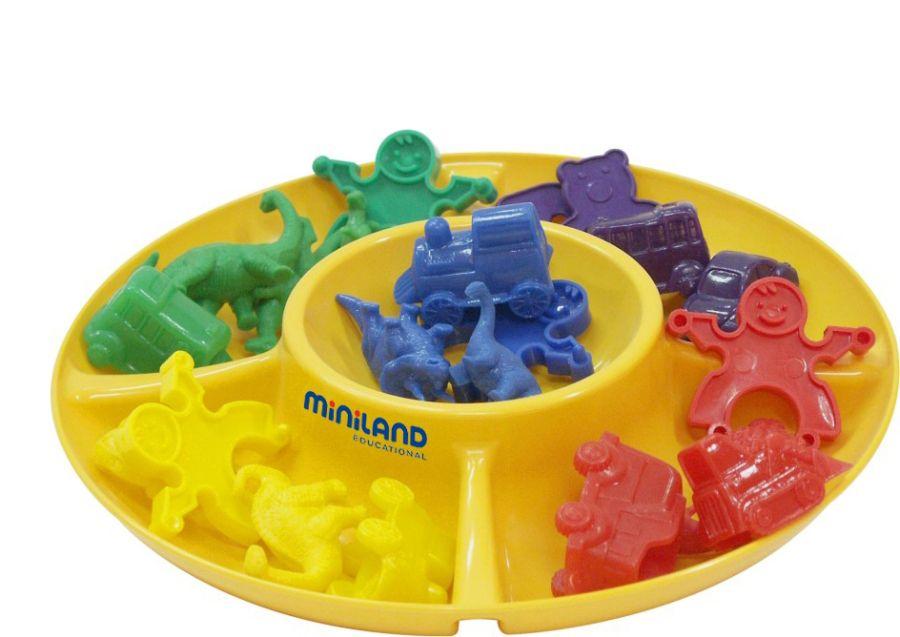 Třídící talíře sada Miniland