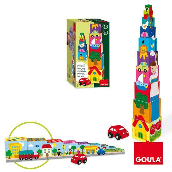 Věž - Město Goula
