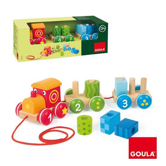 Vláček 1-2-3 Goula