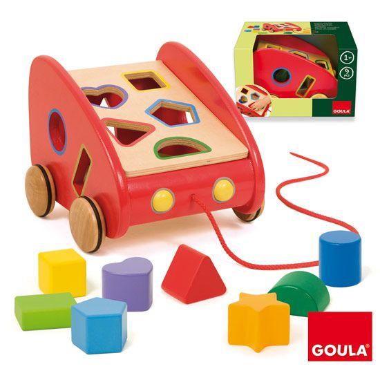 Vozík s tvary Goula