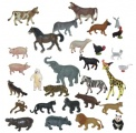 Domácí a divoká zvířata 30 ks Miniland