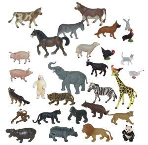 Div. a dom. zvířata 30 ks Miniland