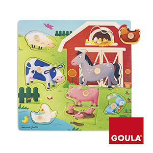Farma vkládanka Goula