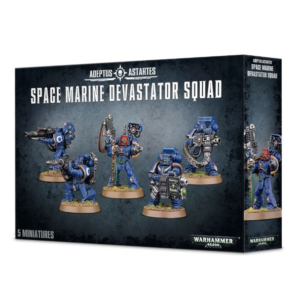 Space Marine Devastator squad Games Workshop