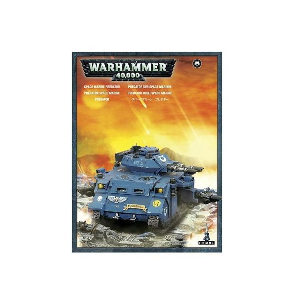 Space Marine Predator Games Workshop