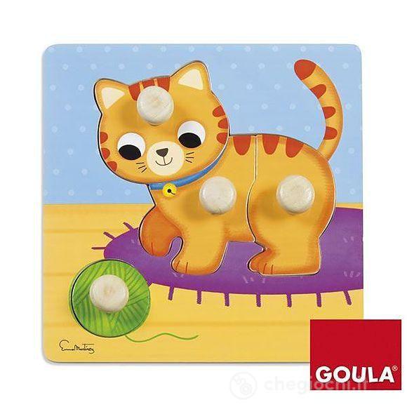 Kočička vkládanka Goula