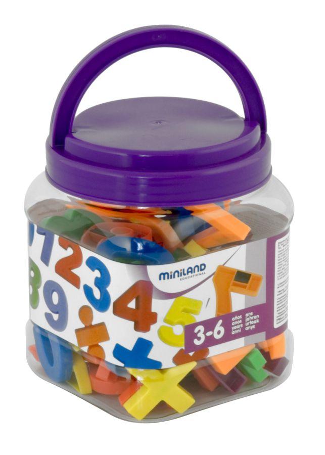 Magnetické číslice Jumbo 68 ks Miniland