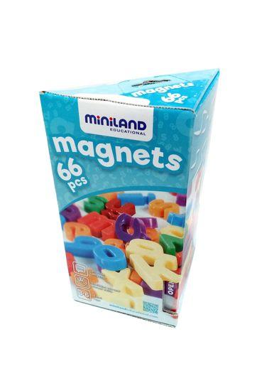 Magnetické písmenka 66ks Miniland
