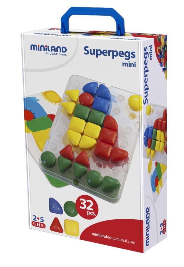 Super prvky 32ks Miniland