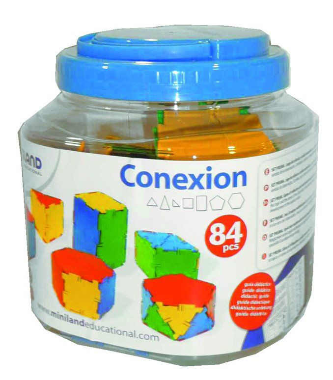 Conexion stavebnice 84 ks Miniland