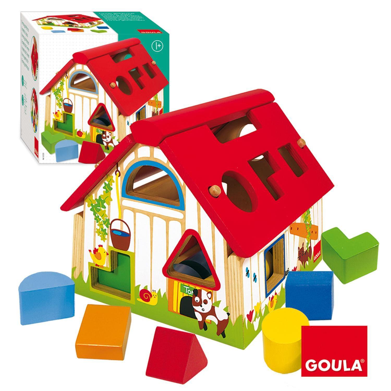 Farma - vkládací tvary Goula