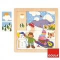 Zima vkládanka Goula