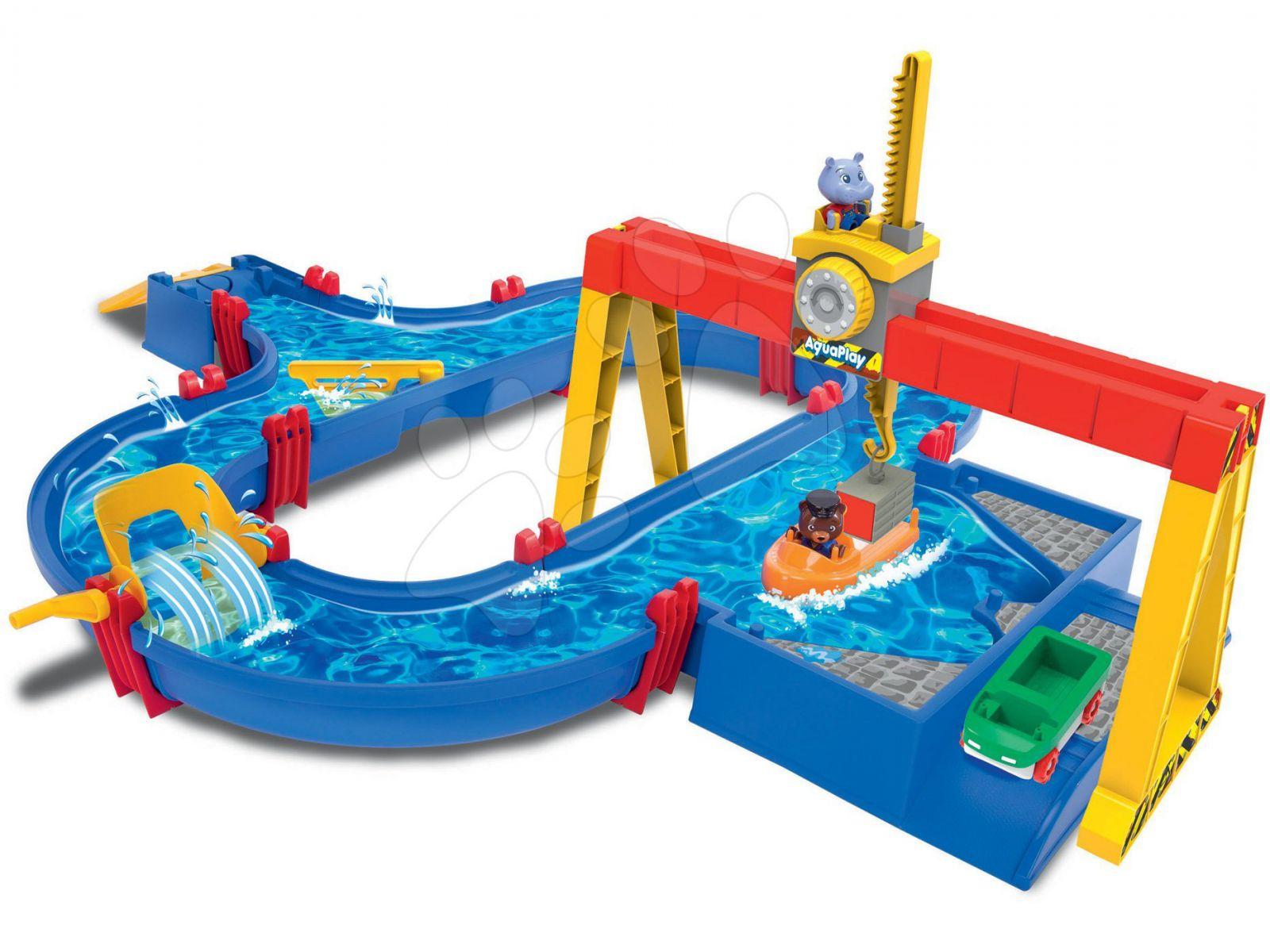 Aquaplay Přístavní jeřáb
