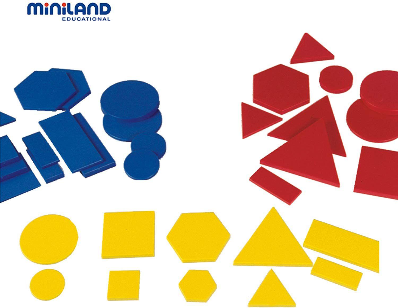 Logické bloky 60 dílů Miniland