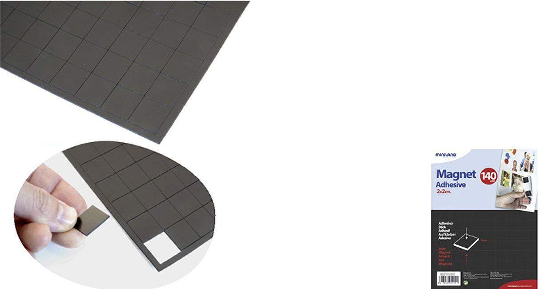 Magnet 2x2cm 140ks Miniland