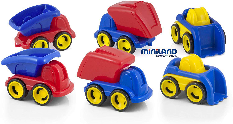 Minimobil sada 6ks Miniland