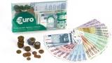 Sada Euro mincí a bank. Miniland