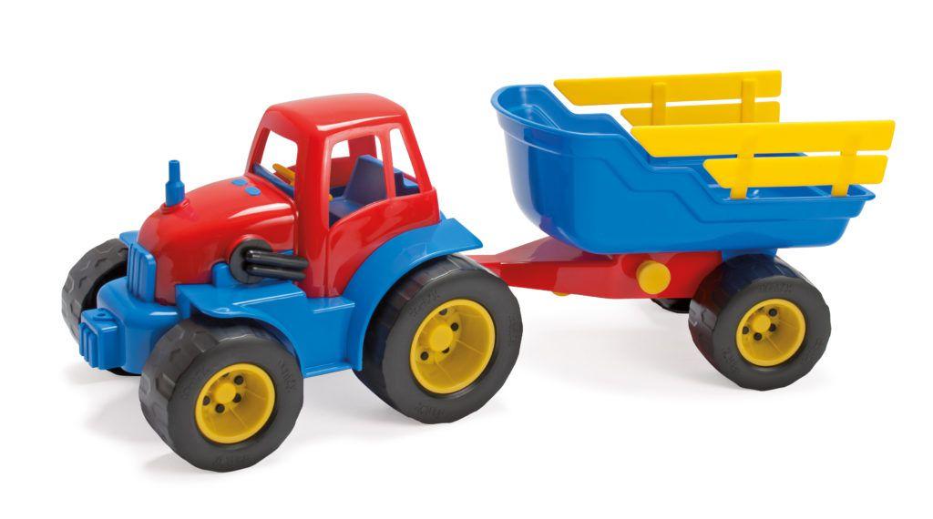 Traktor s vlečkou Dantoy