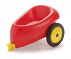 Vozík s gumovými koly
