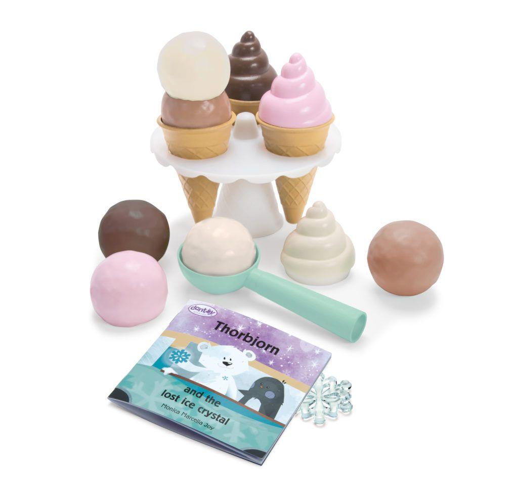 Zmrzlinový set 17ks Dantoy